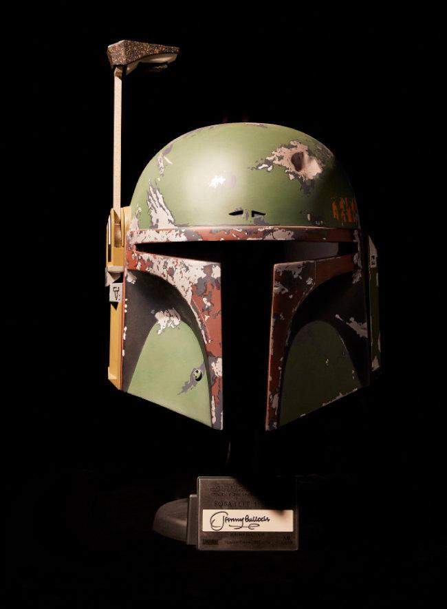 보바 펫의 헬멧.