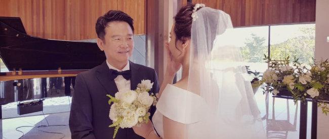 2018년 8월 10일 비공개 결혼식을 올린 남경필 전 경기지사. [남경필 전 경기지사 페이스북]