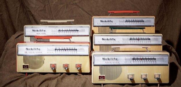 미국에 수출된 국내 최초의 가전제품, 금성사 라디오 '노빌리티'.