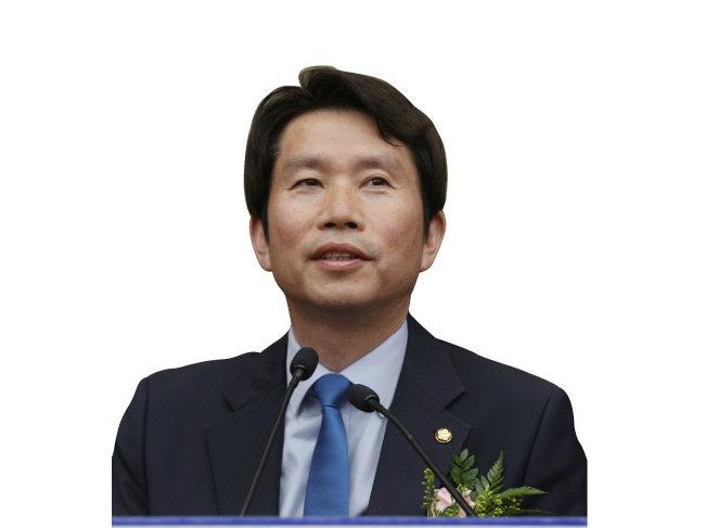 86그룹 대표주자 이인영 더불어민주당 새 원내대표