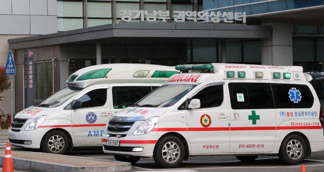 24시간 중증외상환자를 진료하는 아주대병원 경기남부 권역외상센터. [동아일보 홍진환 기자]