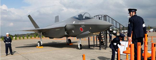 일본 항공자위대 스텔스 전투기 F-35J [AP=뉴시스]