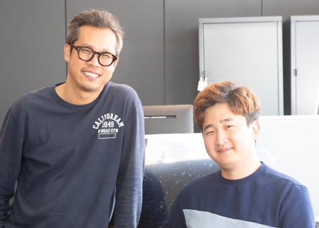 이영선(좌)·전상후 PD [지호영 기자]