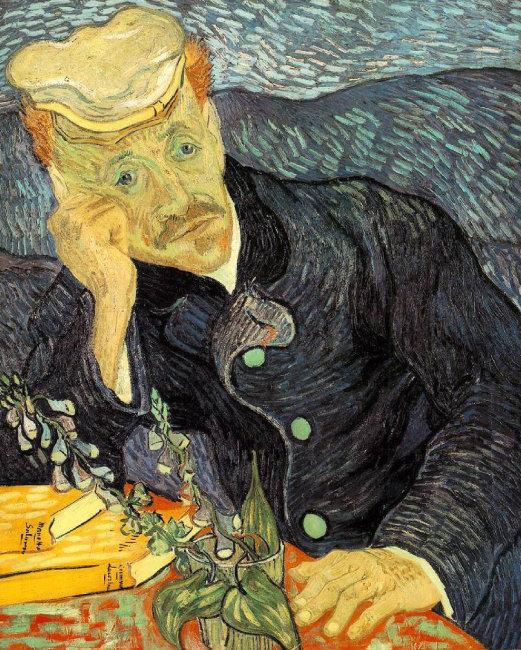 빈센트 반 고흐의 마지막 초상화 '가셰 박사의 초상',