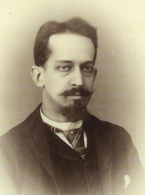 1890년대 한국에 체류한 모리스 쿠랑 당시 프랑스 통역관. [위키피디아]