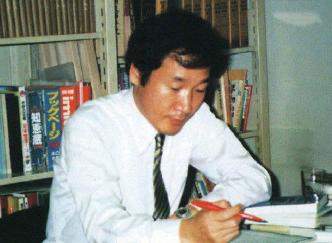 동아일보 일본 특파원 시절의 이낙연 총리.