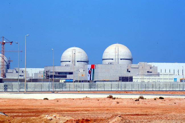 UAE 바라카 원전 전경. [청와대사진기자단]