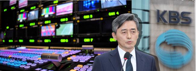 2018년 11월 19일 양승동 당시  KBS 사장 후보자가 서울 여의도 국회에서 열린 인사청문회에서 답변하고 있다. [뉴스1]