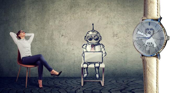 AI가 여는 노동해방의 신새벽…  문재인의 시계만 거꾸로 간다