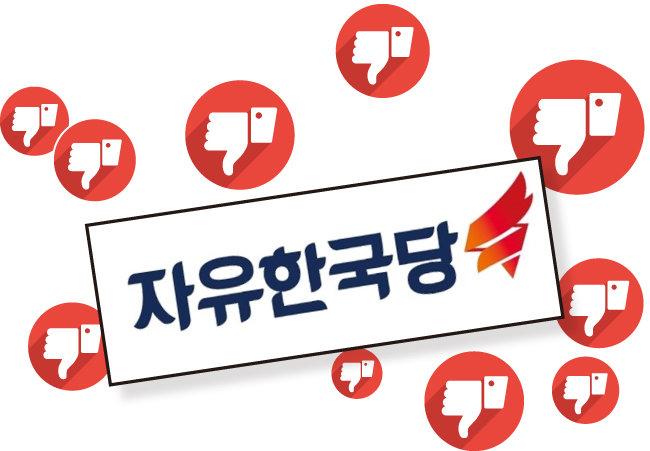 대학생이 한국당 싫어하는 3가지 이유