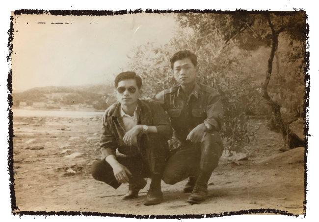 변우의(왼쪽), 변재의 씨 형제.