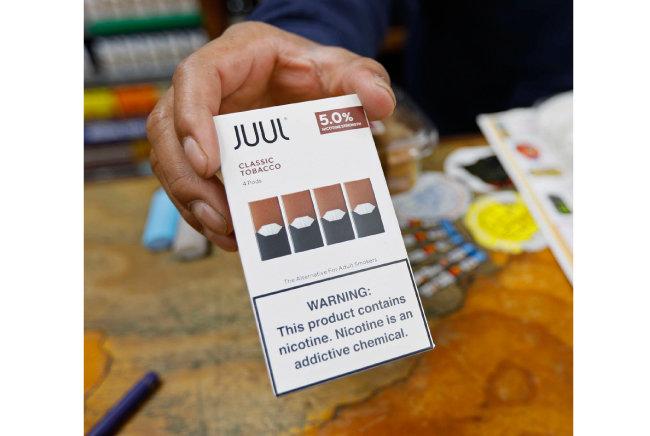 미국 샌프란시스코에서는 '줄(JUUL)' 판매를 금지한 상태다. [AP=뉴시스]