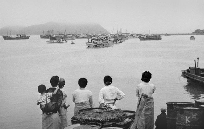 전북 부안 위도(1961년 작).