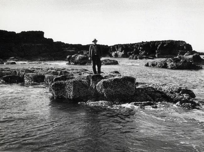 제주 마라도(1968년 작). 신동아 1968년 2월호에 실린 작품이다.