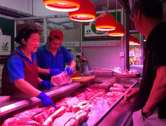 중국인들의 돼지고기 사랑은 유별나다. [뉴시스]