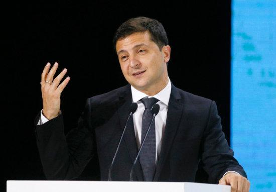 볼로디미르 젤렌스키 우크라이나 대통령. [뉴시스]
