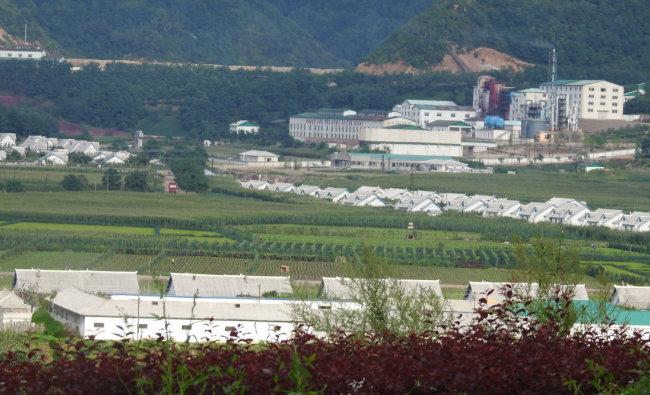 북한 자강도 중강군 '3월 5일 청년광산'.