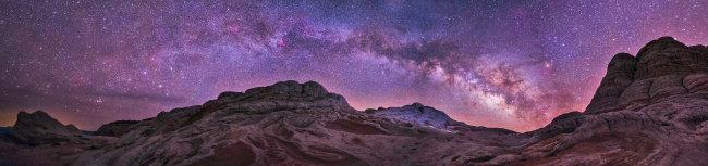 미국 서부 화이트포켓에서 촬영한 은하수.