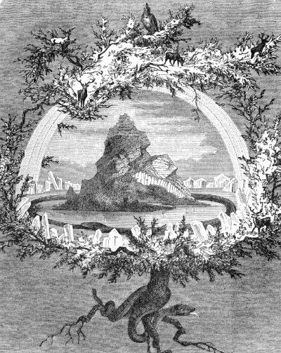 물푸레나무 이그드라실, 프리드리히 빌헬름 하이네, 1886.