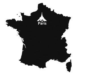 빛의 도시, 프랑스 파리