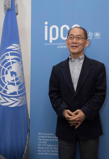 이회성 의장은 2015년부터 IPCC를 이끌고 있다. [조영철 기자]