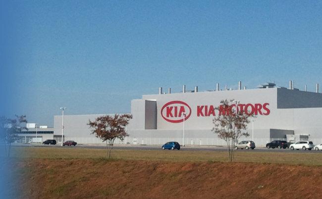 미국 조지아주 기아자동차 공장. [동아DB]