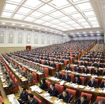 북한은 지난해 12월 28일부터 나흘간 노동당 중앙위원회 제7기 제5차 전원회의를 진행했다. [노동신문]