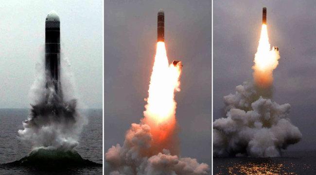 김정은 북한 국무위원장이 국방과학원에서 진행한 초대형 방사포 시험사격을 참관했다고 조선중앙TV가 지난해 11월 29일 보도했다. [조선중앙통신 제공]
