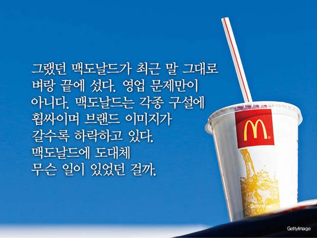 청춘의 명소 '맥도날드'의 몰락