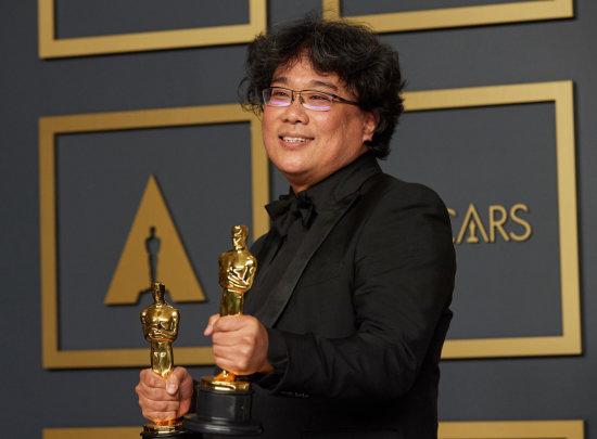 영화 '기생충'으로 새로운 역사를 쓴 봉준호 감독. [ⒸA.M.P.A.S.Ⓡ,]