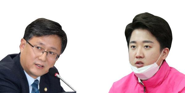 김성환(왼쪽). 이준석. [뉴스1]