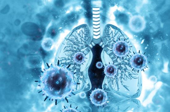 코로나19는 증상 스펙트럼이 다양하며 중증으로 진행하면 폐 기능이 손상될 수 있다. [GettyImage]