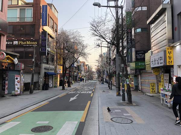 3월 30일 서울 성북구 참살이길. [이현준 기자]