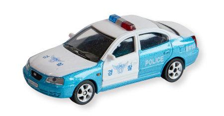 2000년 출시 아반떼XD 모델 미니 한국 경찰차.