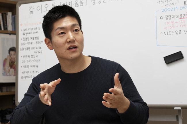 김재섭 전 서울 도봉갑 후보. [홍태식 객원기자]