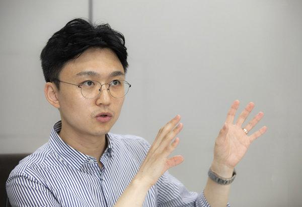 백경훈 청사진 대표. [박해윤 기자]