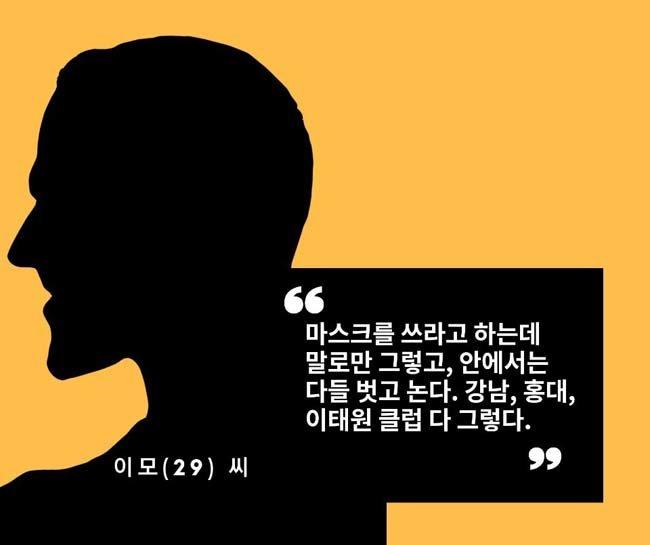 20대 클러버의 '생활방역 일탈기'