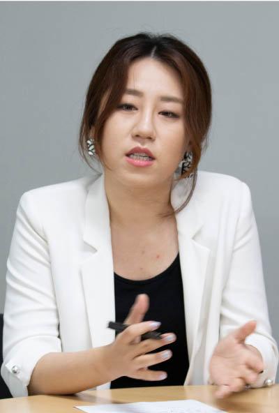 조성은 전 선대위 부위원장 [박해윤 기자]