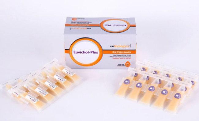 유바이오로직스가 개발한 경구용 콜레라 백신 '유비콜'. [국제백신연구소 제공]
