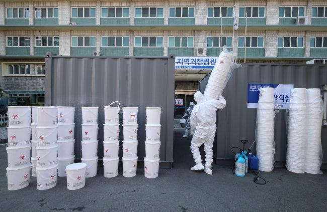 코로나19로 늘어난 폐기물 종류는 각양각색이다. 의료 폐기물도 그중 하나다.