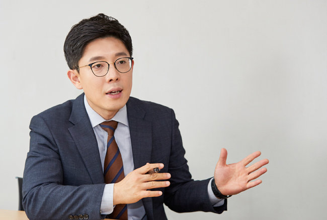 김병민 통합당 비대위원 [지호영 기자]