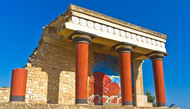 크레타섬의 고대 문화 유적. [GettyImage]
