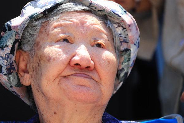 일본군 위안부 피해자 길원옥 할머니.