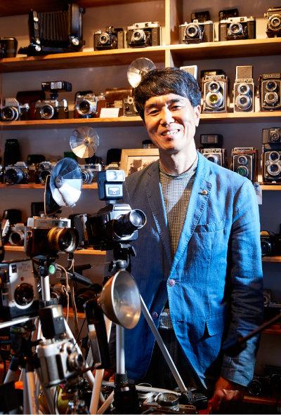 카메라 수집가 박창희 씨.