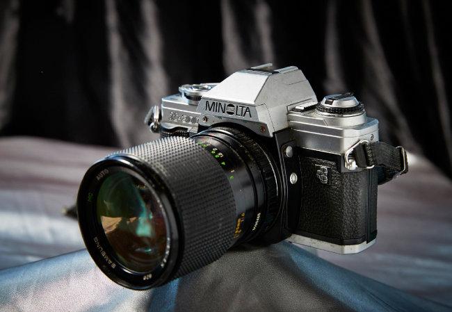 삼성minolta X-300 삼성과 미놀타의 합작 카메라.