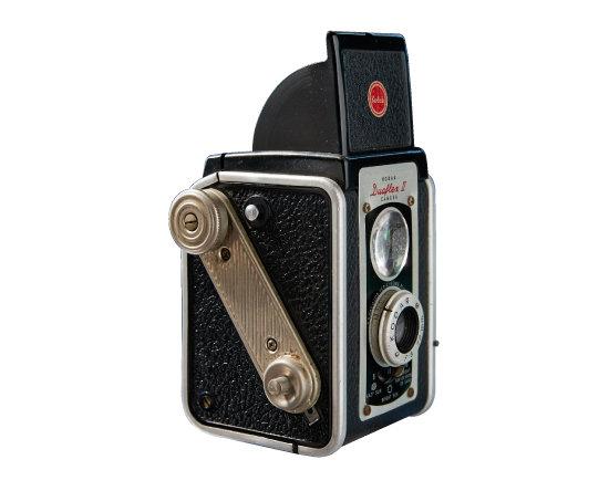 Kodak Duaflex2 1950년대 생산된 TLR 카메라.