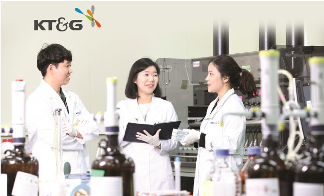 KT&G R&D 본부.