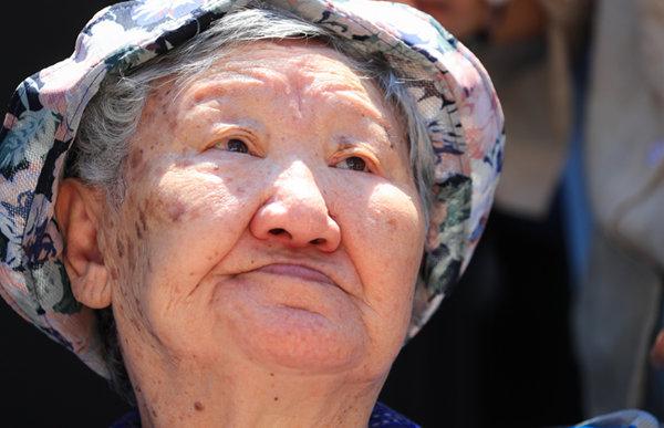 일본군 위안부 피해자 길원옥 할머니. [박영대 동아일보 기자]