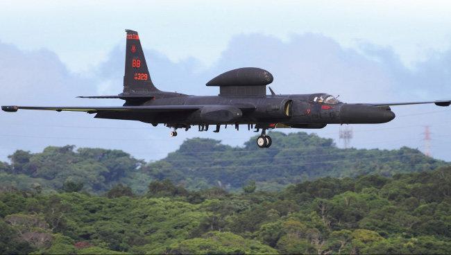 미군이 보유한 U-2S 정찰기. [Airliners 홈페이지 ]