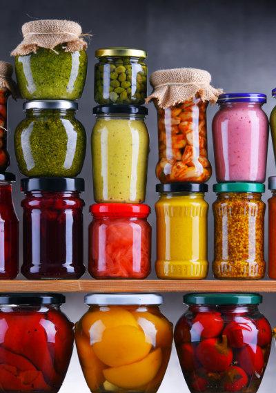 갖가지 과일, 채소로 만드는 당절임은 식탁을 풍성하게 만들어준다. [GettyImage]